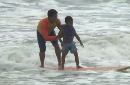 Surfers Healing Camp for Kids with Autism