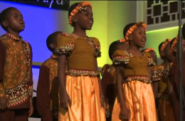 African Children's Choir Performs in Hampton